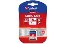 Verbatim SDHC 16GB (Class 10) Up to 45MB/Sec 300X read speed