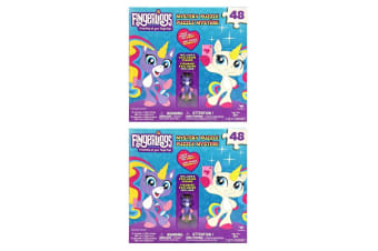 2x 48pc Fingerlings Mystery Jigsaw Puzzle Game Kids/Child 3y+ Toys w/ PP Figure