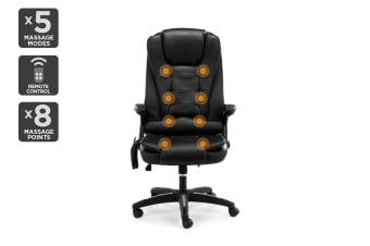 Ergolux 8 Point Vibrating Massage Office Chair