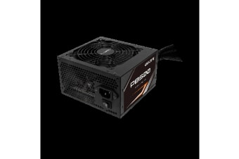 Gigabyte PB500 500W ATX PSU Power Supply 80+ Bronze 86% 120mm Fan Mesh Braided Cables Single +12V Rail Japanese Capacitors >100K Hrs MTBF
