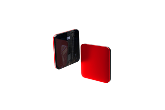 Mini Wireless Thin Mobile Phone Large Capacity Charger Power Red D76-W