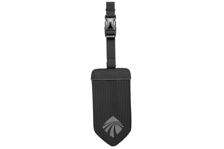Eagle Reflective Luggage Tag - Black