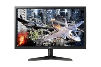 "LG 24"" 16:9 FHD Gaming Monitor with 144hz and FreeSync (24GL600F-B)"