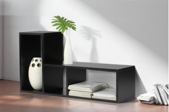 Ovela Flexi Stacker Shelf (Black)