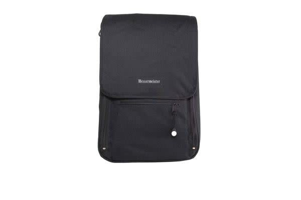 Messermeister 6 Pocket Messenger Bag Black