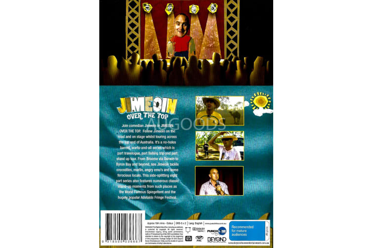 Jimeon Over The Top -Comedy Series Region All Rare- Aus Stock Preowned DVD: DISC LIKE NEW