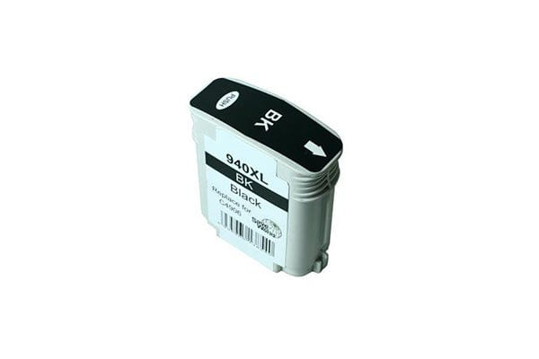 940XL Remanufactured Black Cartridge