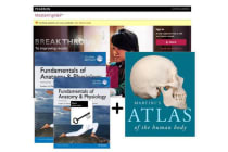 Value Pack Fundamentals of Anatomy & Physiology Global Edition + Modified MasteringA&P with eText + Martini's Atlas of the Human Body
