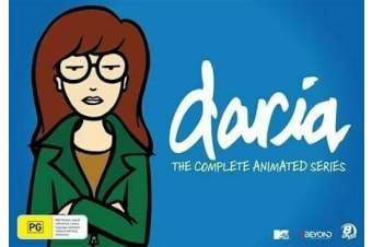 The Daria - Complete Animated Series (DVD, 2015, 8-Disc Set BRAND NEW REGION 4