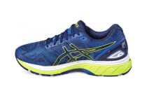 ASICS Men's Gel-Nimbus 19 Running Shoe (Indigo Blue/Safety Yellow/Electric Blue)