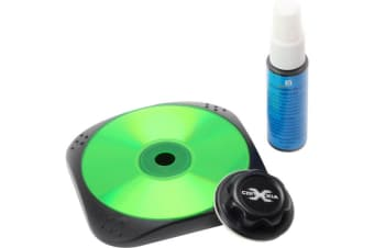 Wet Disc Cleaner For Blu-Ray / DVD / CD