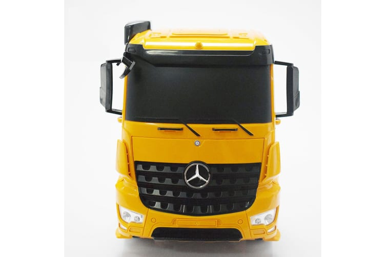 Mercedes Benz 1:20 75cm RC Remote Control Truck Flat Bed Trailer/Charger Kids 6+