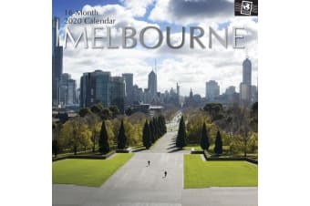 Melbourne - 2020 Premium Square Wall Calendar 16 Months New Year Xmas Decor Gift