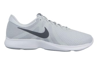 Nike Men's Revolution 4 Running Shoe (Platinum/Grey/White, Size 11.5 US)