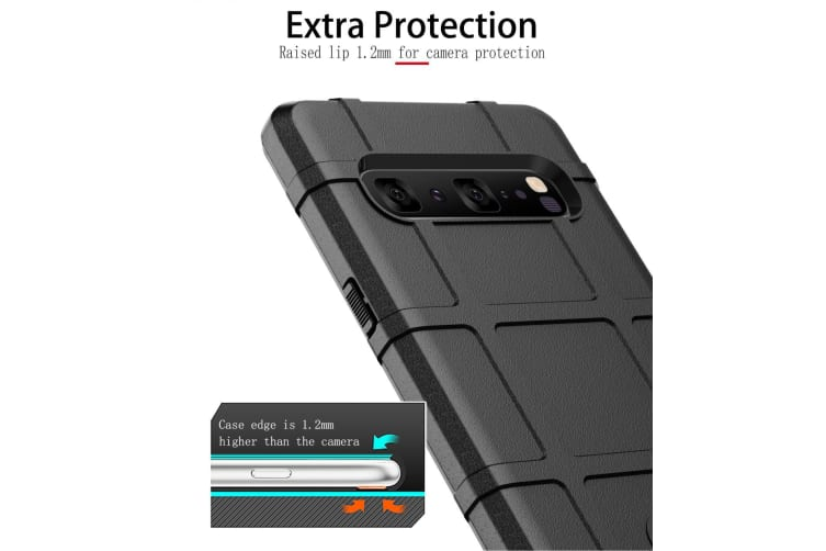 For Samsung Galaxy S10 5G Case  Shockproof Shield Light Armour Cover  Blue