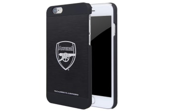 Arsenal FC iPhone 6/6S Aluminium Case (Black) (One Size)