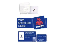 AVERY L7167 General Use Labels A4 1 Label/Sheet - 100 Sheets