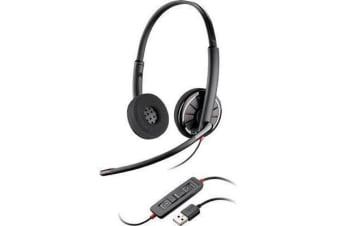 Plantronics Blackwire C320 Binaural Wired UC USB Headset 85619-02 85619-102