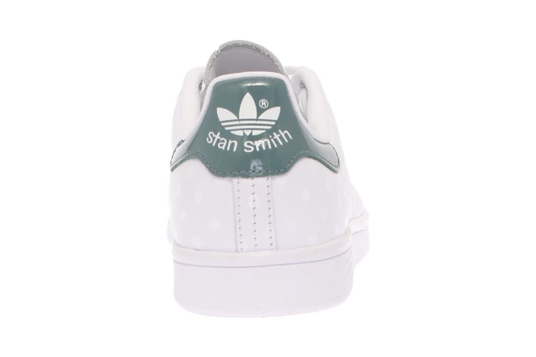 Adidas Originals Women's Stan Smith Shoes (White/Raw Green, Size 8)