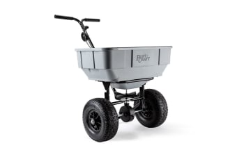 PLANTCRAFT Push/Tow Broadcast Spreader - Seed Fertiliser Seeder Machinery Tow