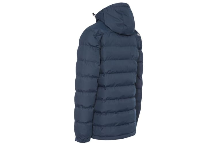 Trespass Mens Specter Waterproof Padded Jacket (Navy) (XXL)