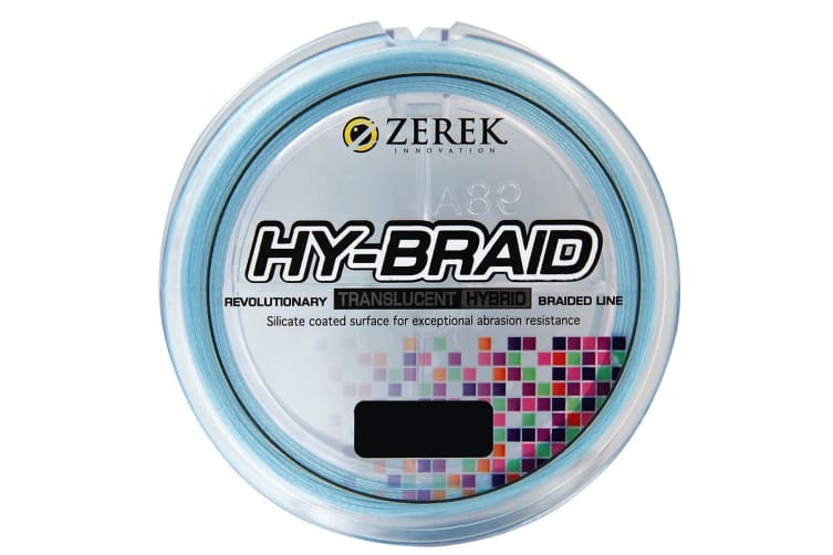 300m Spool of Blue Zerek Hy-Braid Fishing Line-Translucent Braided Fishing Line [Breaking Strain: 10lb]