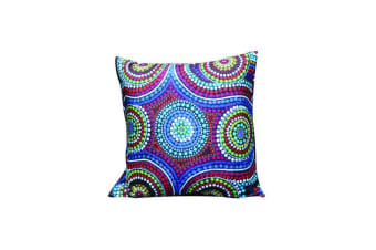 Family Aboriginal Design Cushion Cover