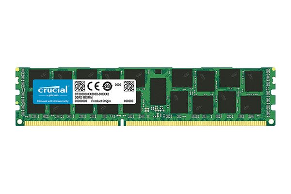 Crucial 16GB DDR3 1866 MT/s (PC3-14900) CL13 Registered DIMM 240 Pin for Mac