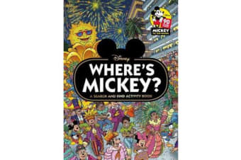 Where's Mickey? A Search and Find Activity Book (Disney)