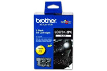 BROTHER Ink Cartridge LC67BK2PK Black 2 pack