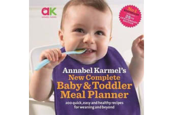 New Complete Baby & Toddler Meal Planner