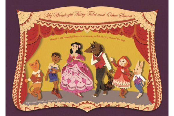 Paper Theatre - My Wonderful Fairy Tales and Other Stories by Emmanuelle  Pioli   9782733843277   2016   Children & Teenagers / Young Adults >