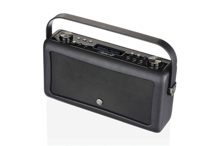 VQ Hepburn Mk II DAB+ Digital Radio/Bluetooth Speaker/Vintage/Wireless Black