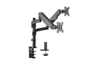 Brateck Dual Minitor  Full Extension Gas Spring Dual Monitor Arm (independent