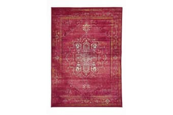 Overdyed Classic Style Rug Red 230x160cm