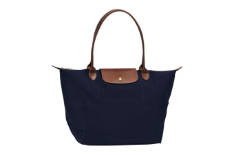 Longchamp Le Pliage Tote Bag (Large, Navy)