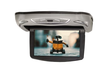 "NCE 10.1"" Rooftop Mount DVD Player with 2 x Headphone Sets (DV1107FL)"