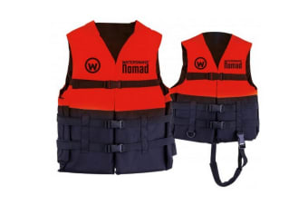 Red Watersnake Nomad Adult or Child Life Jacket - Level 50 PFD Size:Large Adult