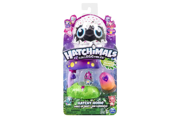 Hatchimals Colleggtibles Hatchy Homes Light Up Fabula Forest