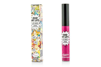 TheBalm Read My Lips (Lip Gloss Infused With Ginseng) - #Zaap! 6.5ml/0.219oz