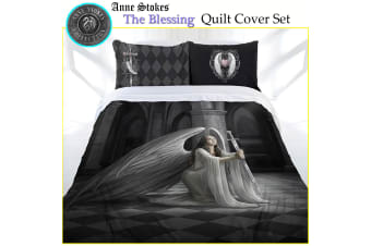 Anne Stokes The Blessing Quilt Cover Set Double