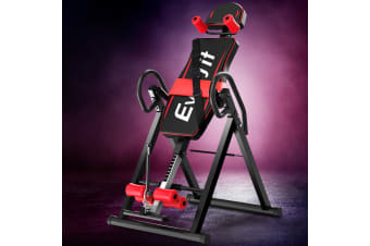 Everfit Inversion Table Gravity Tables Stretcher Inverter Foldable Home