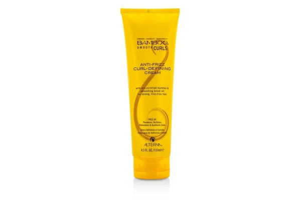 Alterna Bamboo Smooth Curls Anti-Frizz Curl-Defining Cream (For Strong, Frizz-Free Hair) (133ml/4.5oz)
