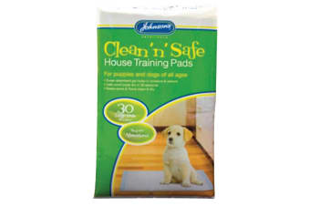 Johnsons House Training Pads (Pack Of 30) (May Vary) (One Size)