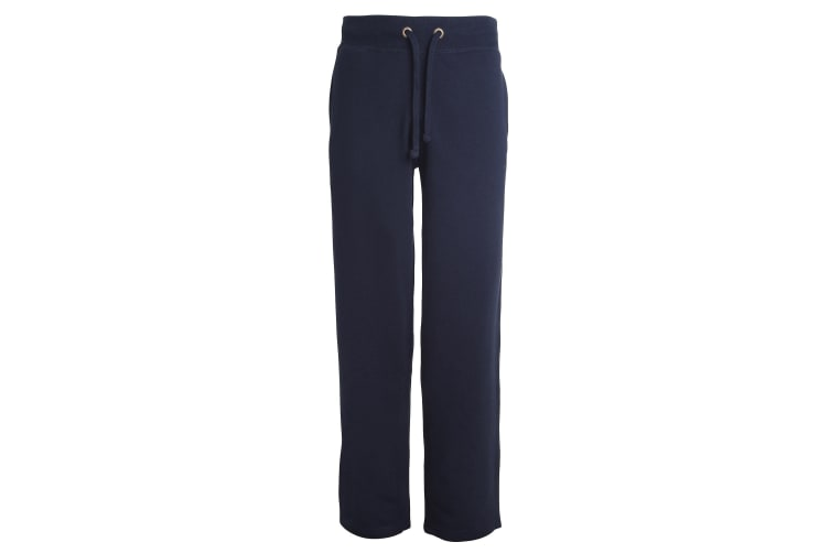 Awdis Mens Heavyweight Campus Sweatpants / Jogging Bottoms (French Navy) (L)