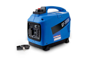 GENFORCE Inverter Generator 2kVA Max 1.7kVA Rated Portable Camping Petrol