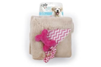All For Paws Little Buddy Puppy Play Mat (Pink) (One Size)