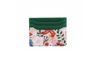 Painted & Pressed Card Holder (Green)