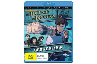 The Legend of Korra Book One Air Blu-ray Region B