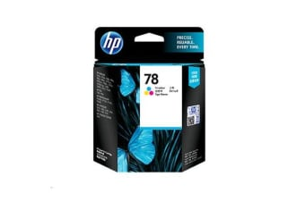 HP 78 Ink Cartridge - Cyan